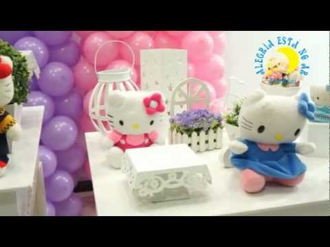 Decora??o Infantil Proven?al Hello Kitty - YouTube