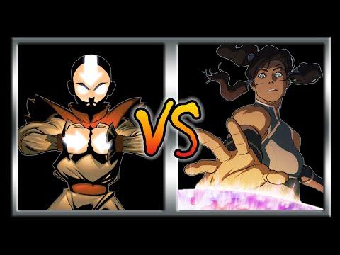 Who Would Win -  Aang Vs  Korra