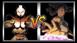 Who Would Win -  Aang Vs  Korra