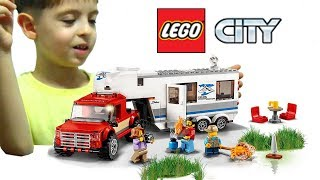 лЕГО СИТИ ПИКАП и КАРАВАН 60182/LEGO city Vehicles Pickup and Caravan 60182