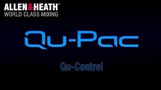 Allen & Heath Qu Series - Qu-Pac Channel Screen & Qu-Control