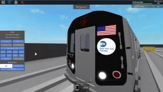 Roblox MTA Rare: R160 W Train