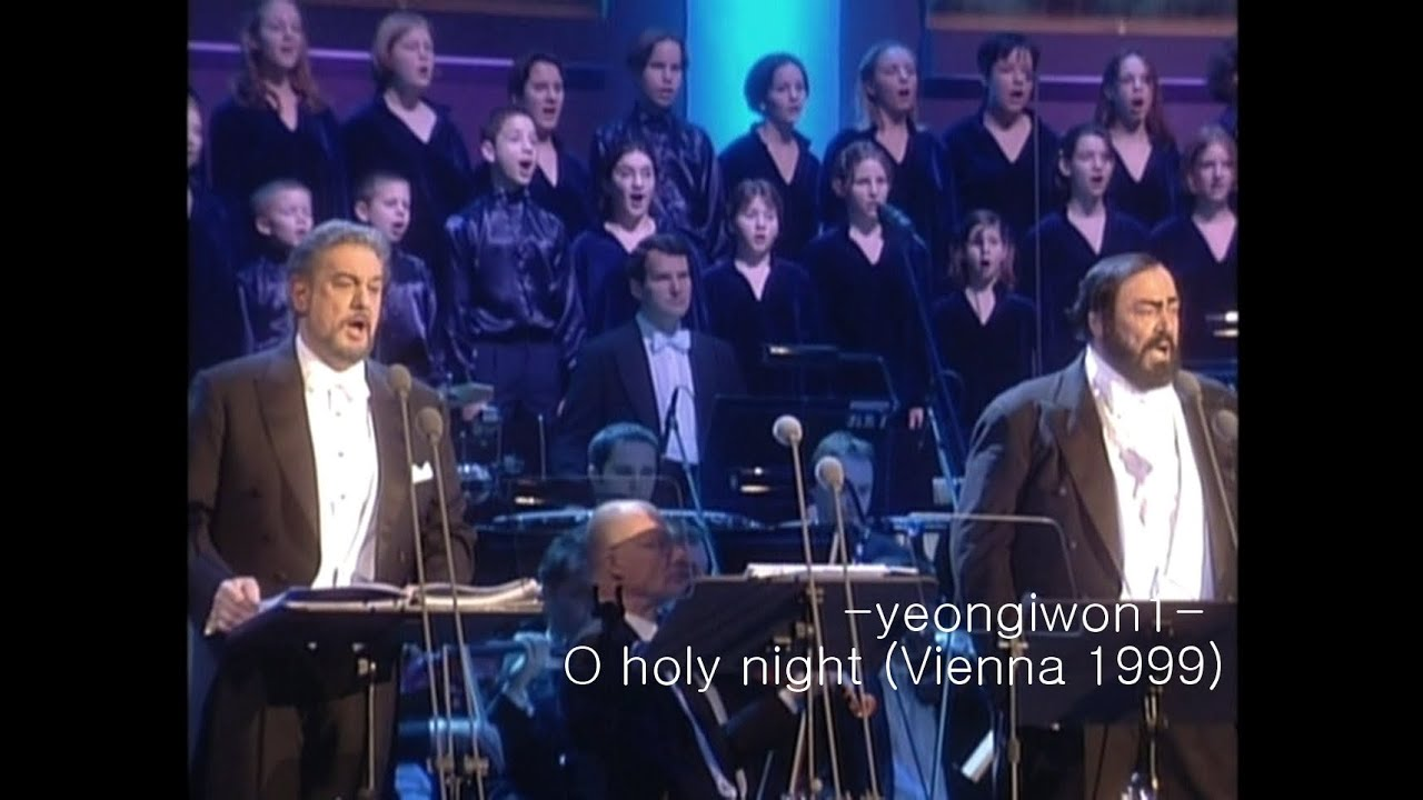 Luciano Pavarotti and Placido Domingo – O Holy Night / Cantique De Noel