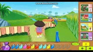 Dora The Explorer 3D Backpack Adventure Gameplay