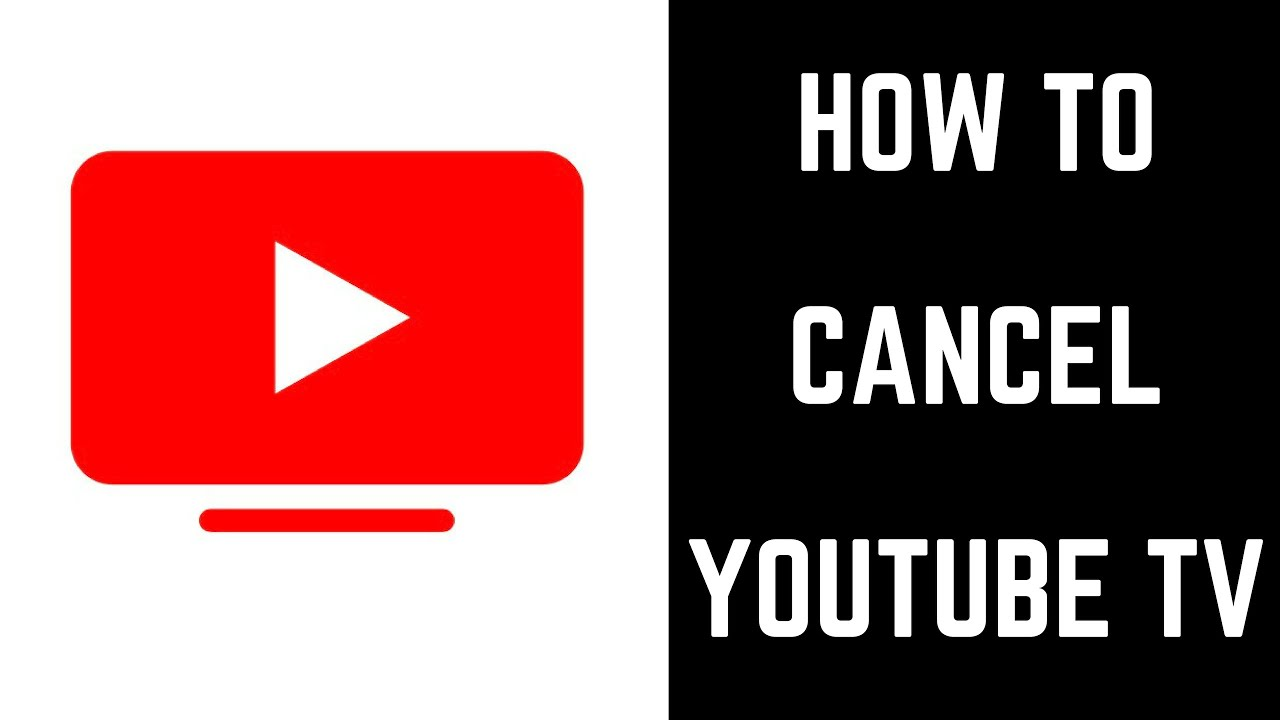 How To Cancel Youtube Tv Youtube