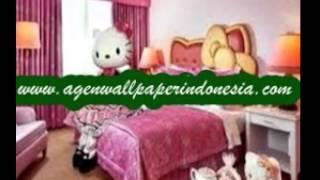Art's DECOR - Jual Wallpaper Dinding kamar Anak Hello Kitty