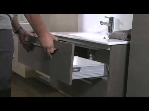 Hvordan ta ut skuff fra baderomsinnredningen youtube for Installation salle de bain ikea