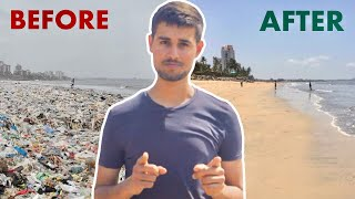 Cleaning 9 million kgs of Trash | Dhruv Rathee Interviews Afroz Shah