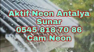 Gök Gürültüsü Sesi Ve Çinko Çatıdan Çıkan Yağmur Sesi 2 Saat (Uyuma Garantili)