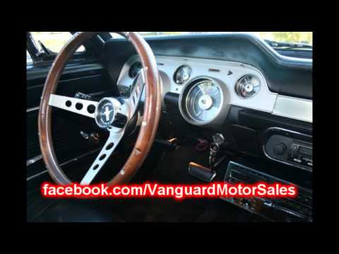 1967 Ford Mustang Coupe Classic Muscle Car for Sale in MI Vanguard Motor Sales