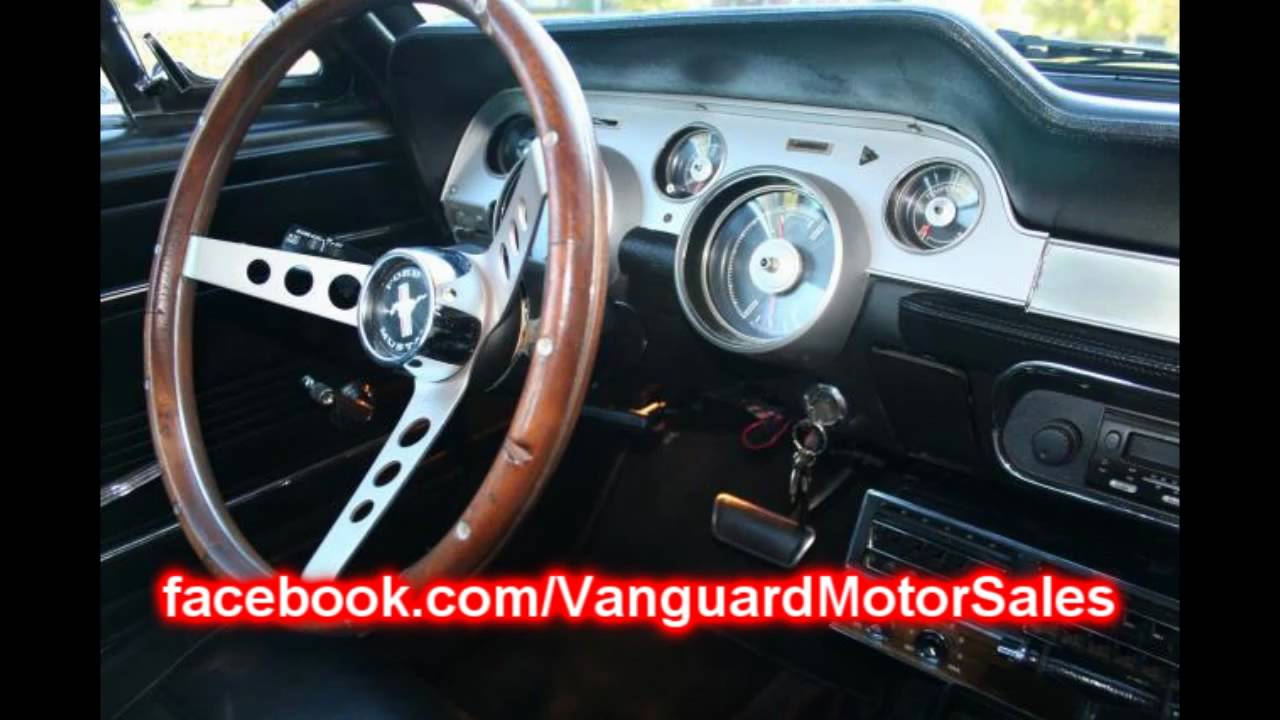 1967 Ford Mustang Coupe Classic Muscle Car for Sale in MI Vanguard ...