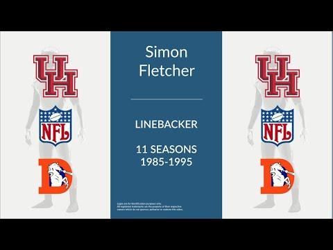 Simon Fletcher: Football Linebacker and Defensive End