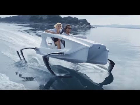 Top 5  Watercraft  Can Fly Over Water | Hydrofoils  Boats