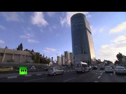 RAW: Air raid sirens, rush in Tel Aviv, Israel's Iron Dome intercepts Gaza rocket