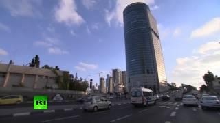 RAW: Air raid sirens, rush in Tel Aviv, Israel