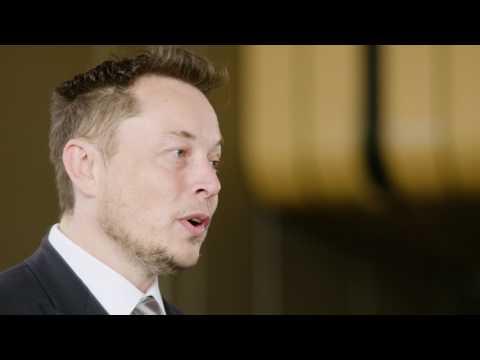 Elon Musk On The Massive Tesla Battery Project In South Australia | 2017