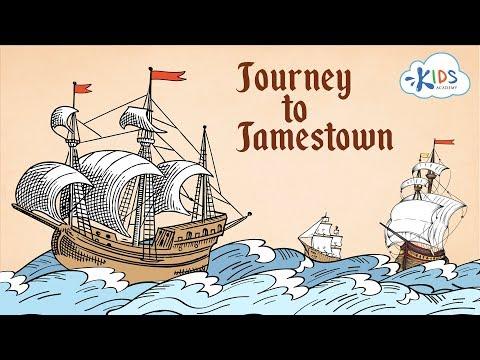 Jamestown Settlement | Jamestown Colony | Educational Story For Kids | Kids Academy