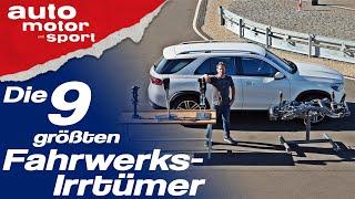 Weich = komfortabel, hart = sportlich: 9 Fahrwerks-Irrtümer - Bloch erklärt #69 | auto motor & sport