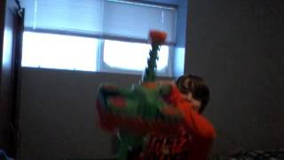Awesome nerf machine gun