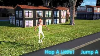 Hop a little Jump a little 3D Rhyme