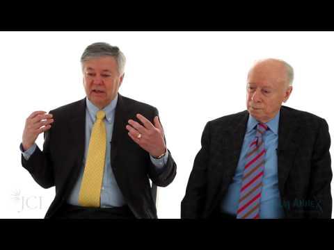 JCI's Conversation with Giants in Medicine: Robert Lefkowitz, Joseph Goldstein, and Michael Brown