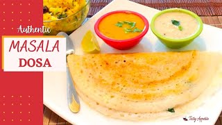Masala Dosa / How to make Masala Dosa / Indian Breakfast Recipes