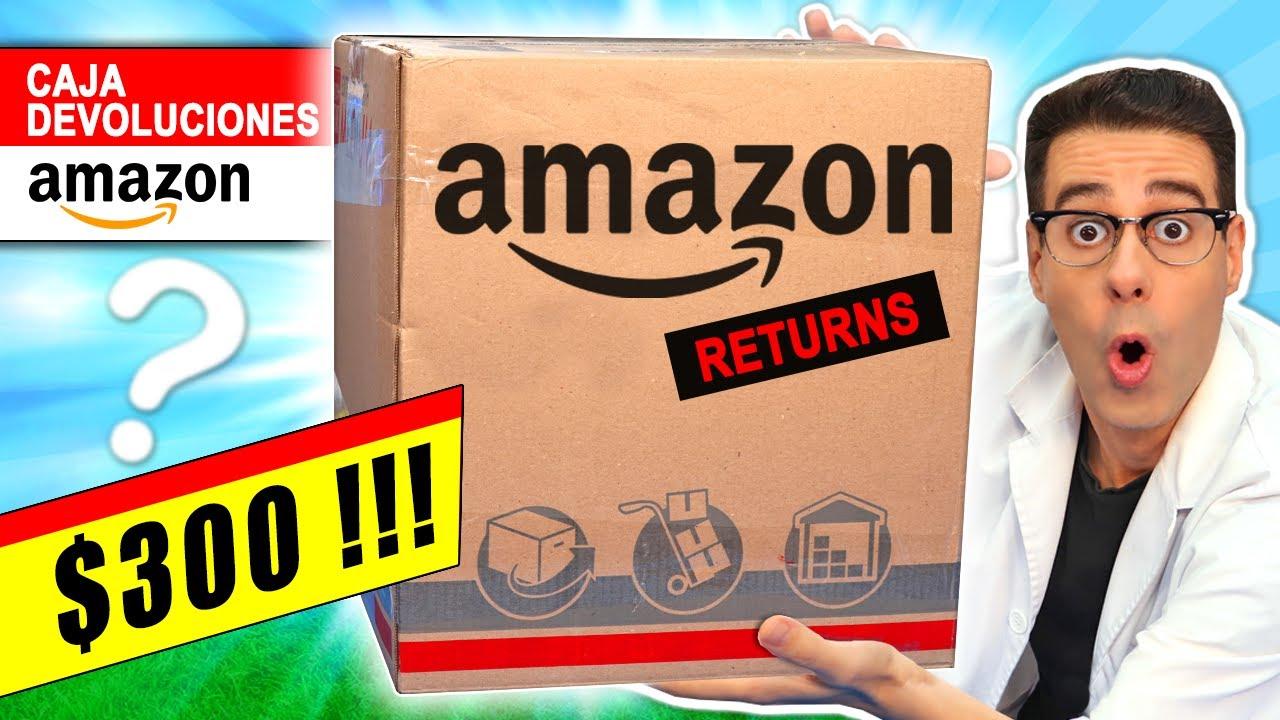 Compré LA CAJA MÁS CARA de AMAZON DEVOLUCIONES por $300 📦❓ Caja Misteriosa | Curiosidades con Mike