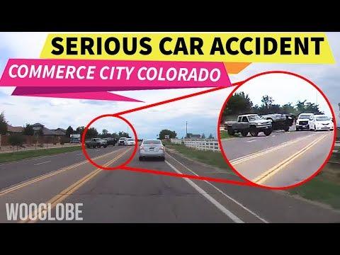 Car accident and Close call, - Commerce city, Colorado