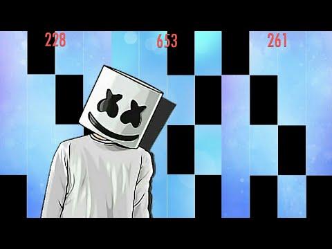 Marshmello - Alone in Piano Tiles 2