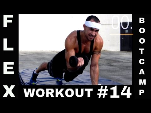 Flex Fit Boot Camp Class Complete Body Workout 14 (Static Pressure )