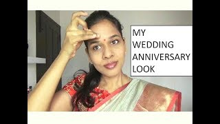 MY WEDDING ANNIVERSARY LOOK | OUTFIT + HAIRSTYLE
