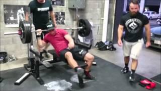 World Champions John Hancott & Brett Gibbs training at Iron Underground