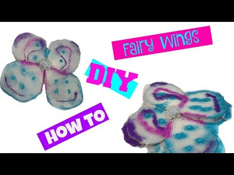 How to DIY Fairy Wings   Last Minute Costume   Halloween Series   For Young Kids