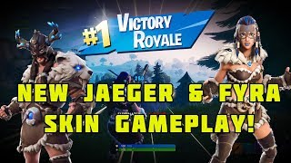 New Four & Jaeger Viking Skins, Season 7 Gameplay (Fortnite)