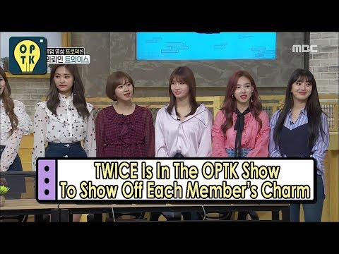 [Oppa Thinking - TWICE] They Want To Show Off Each Member's  Charm 20170527