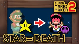 Download Lagu Super Mario Maker 2 - If You Touch A Super Star You Die mp3