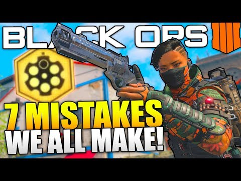 7 COMMON MISTAKES EVERYONE MAKES IN BLACK OPS 4 - [Call of Duty Gameplay] thumbnail