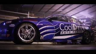 Tim Blanchard revealing his 2018 Team CoolDrive ZB Commodore.