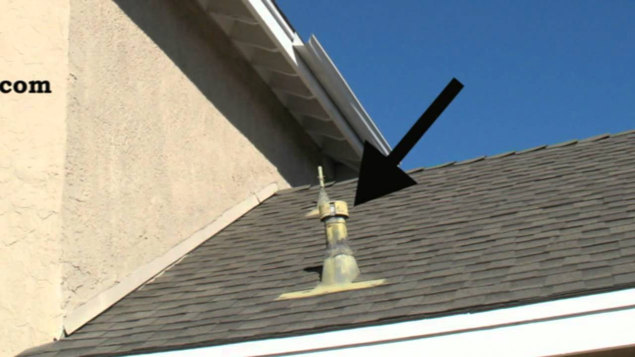 Paint Roof Plumbing And Mechanical Vents Roofing Youtube