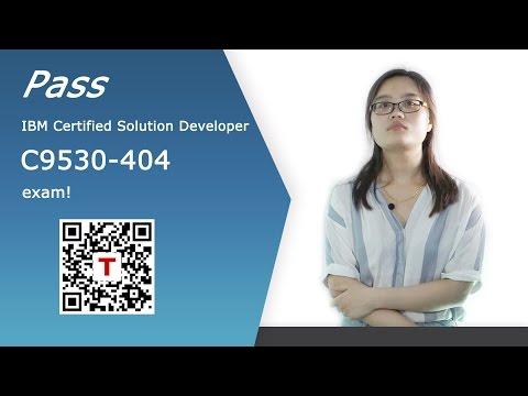 [Testpassport] IBM Certified Solution Developer C9530-404 exam questions C9530-404 dumps
