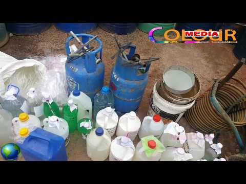 Illegal alcohols seized by negombo police
