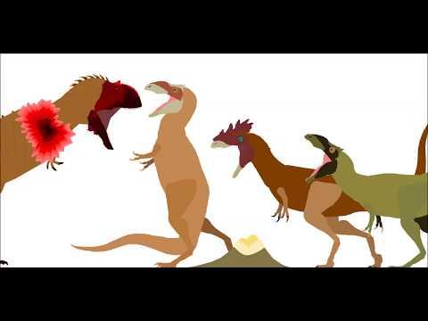 KSER-Alioramus VS Majungasaurus
