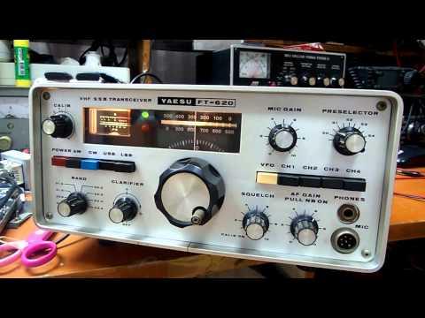50MHz YAESU FT-620 SSB.CW.AM Transceiver