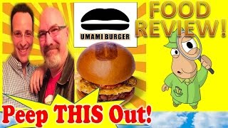 Umami Burger® Review With Kbdproductionstv! Peep This Out!