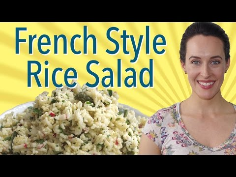 French Style Rice Salad: Mark Bittman Recipe Demo, Vegan, Vegetarian Salad Recipe