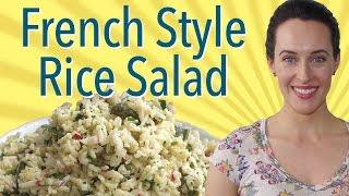 French Style Rice Salad: Mark Bittman Recipe Demo, Vegan, Vegetarian Salad Recipe