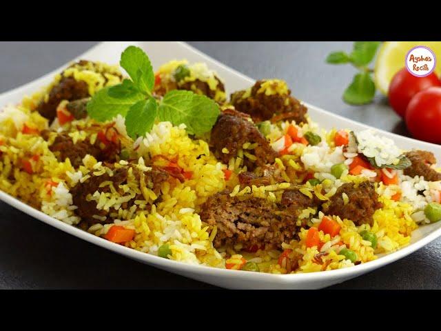 ইফতারের জন্য সবথেকে সহজ উপায়ে এবং কম সময়ে ঝামেলাহীন বিরিয়ানী রেসিপি | Mutton keema Biriyani Recipe