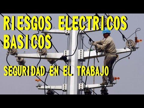 RIESGOS ELECTRICOS BÁSICOS - SEGURIDAD EN EL TRABAJO