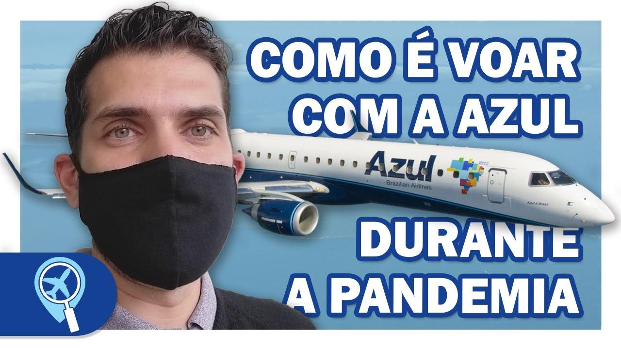 Como é voar com a Azul durante a pandemia saindo do aeroporto de Congonhas em São Paulo