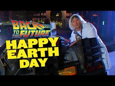 Back to the Future Happy Earth Day 2018 | Universal Studios Hollywood